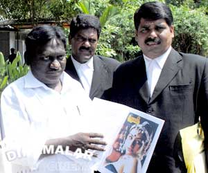 Tamil writer claims copyright to Enthiran plot