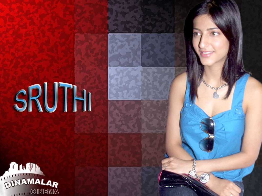 Tamil Actress Wall paper Shruti hassan