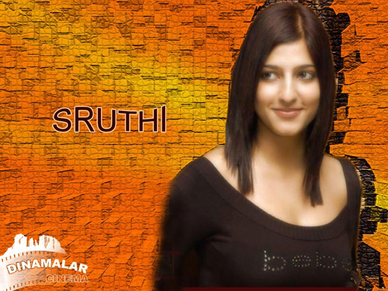 Tamil Cinema Wall paper Shruti hassan