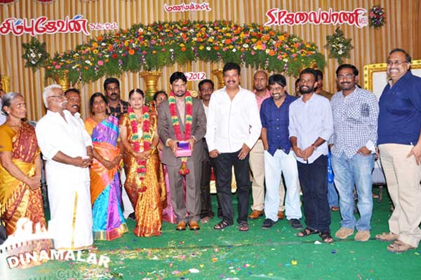 Cine Vila Director Chimbudevan Wedding Stills