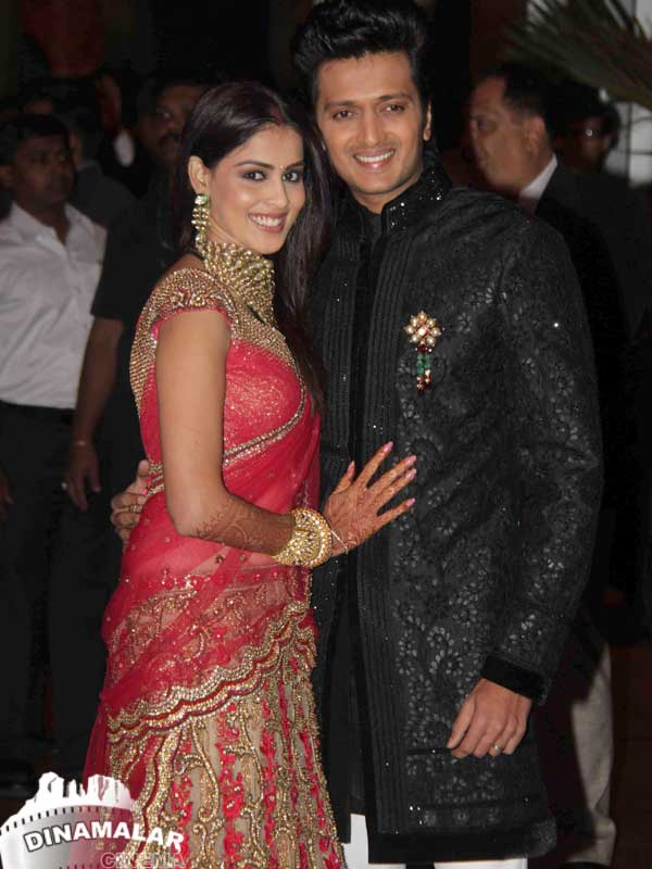 Tamil Cinema Cine Function Genelia-Ritesh Wedding Reception photos