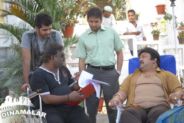 Tamil shooting spot