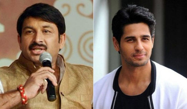 I-will-file-a-PIL-against-Siddharth-Malhotra-says-Manoj-Tiwari