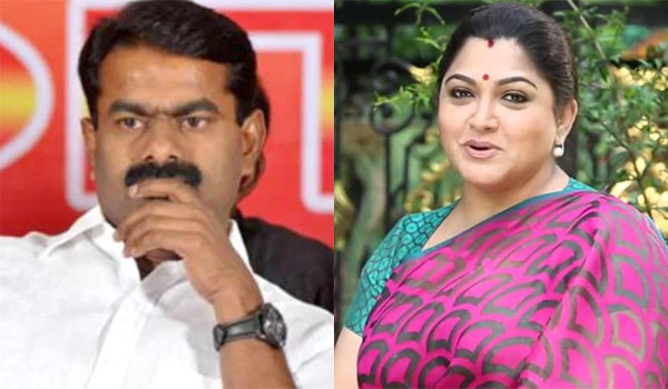 Seeman---Kushboo-joints-for-Traffic-Ramasamy
