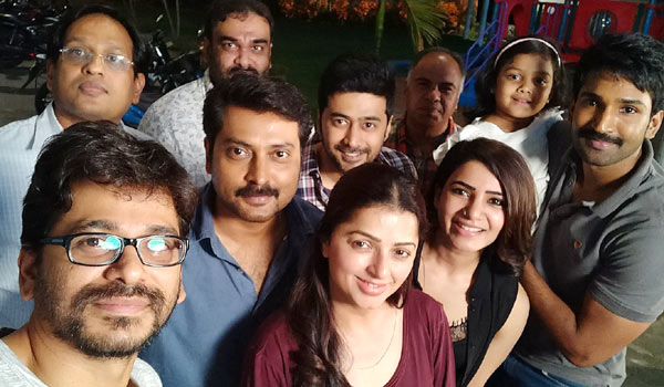 Bhoomika-joints-in-U-Turn-Shooting