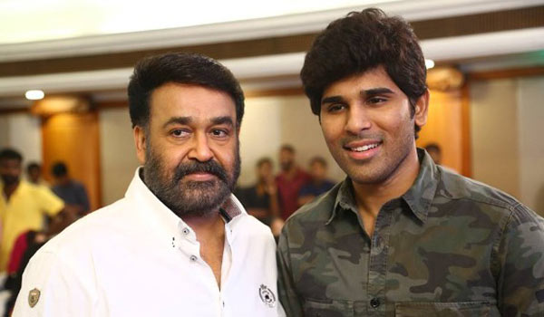 Allu-Sirish-acting-mohanlal-with-second-time