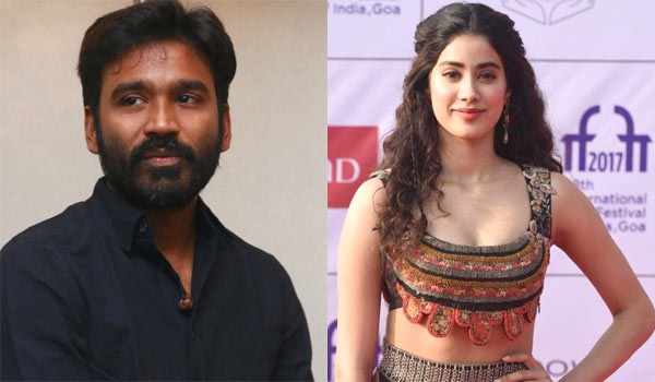 Jhanvi-kapoor-favourite-south-indian-actor-is-Dhanush