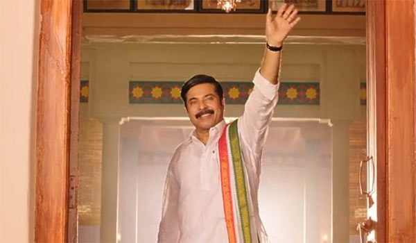 Mammootty-completing-Dubbing-works-after-shooting-over-on-the-day