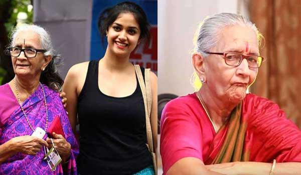 keerthy-suresh-grandmother-turns-another-roja-in-kollywood