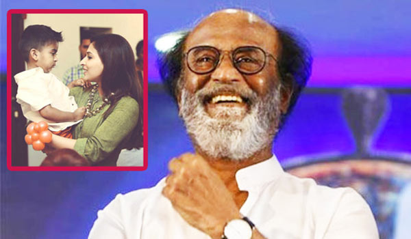 Rajini-travel-in-Auto-with-Grandchild