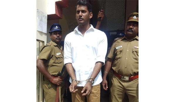 Did-Vishal-arrest-:-What-a-publicity-for-a-movie.?
