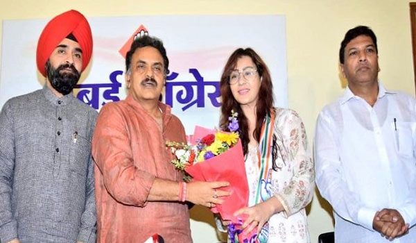 Shilpa-shinde-joints-in-Congress
