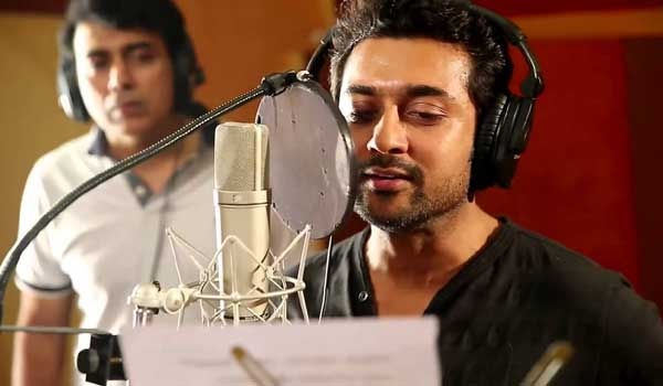 surya-begins-dubbing-work-for-ngk