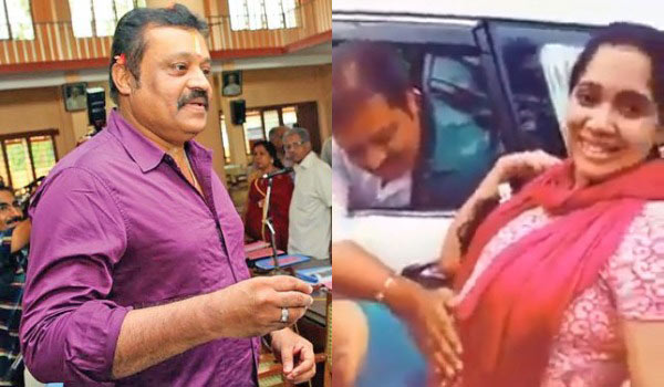Suresh-gopi-trolled-by-touching-Pregnant-lady