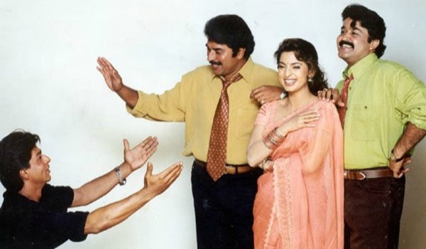 Did-Sharukhkhan-act-with-mammootty-and-Mohanlal