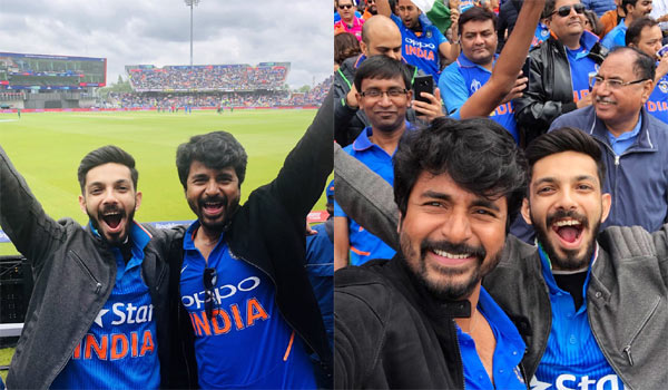 Sivakarthikeyan---Anirudh-watched-India-Pak-cricket-match-at-England