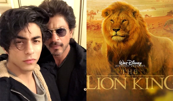 SRK-and-his-son-Dub-For-Hollywood-movie