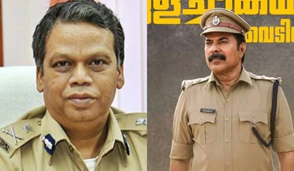Kerala-DGP-congrats-Mammootty-movie