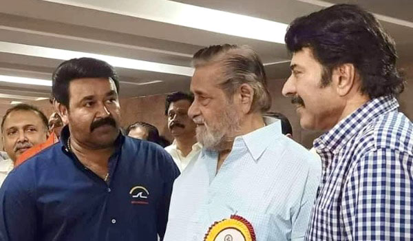 Mohanlal---Mammootty-inagratues-Producer-council-new-building