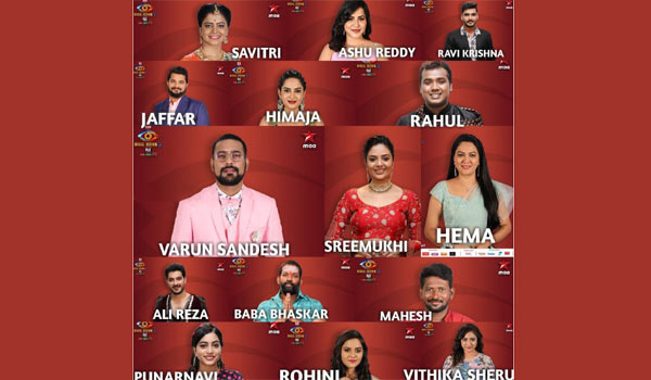 Who-are-all-the-contestant-in-Biggboss-Telugu-3