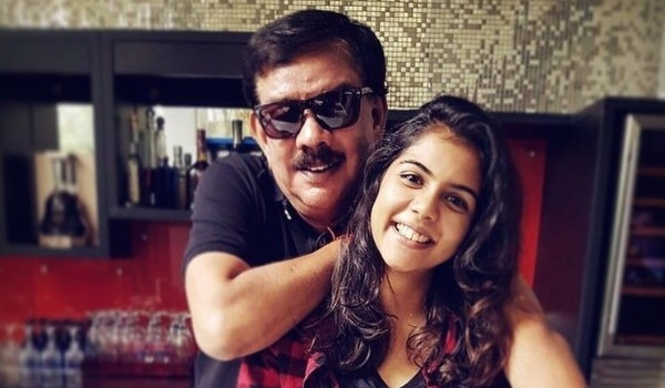 kalyani-priyadharshan-got-fear-to-act-her-father-direction