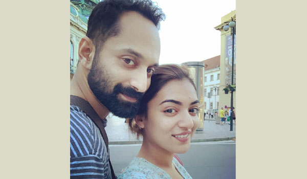 Fahad---Nazriya-celebrates-wedding-anniversary-in-abroad