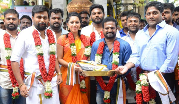 Sasikumar---Ponram-movie-begins
