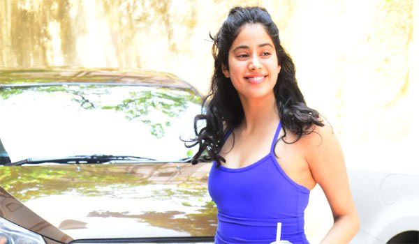 Janhvi-kapoor-likes-to-live-in-Gym