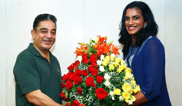Kamal-about-meet-with-PV-sindhu