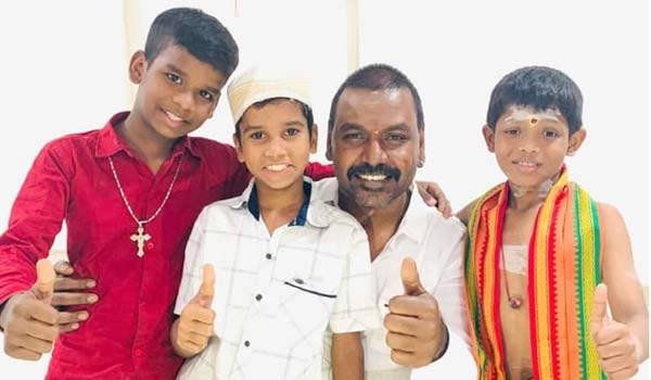 One-temple-for-Hindu-,-Muslim-and-Christians-says-Raghava-Lawrence