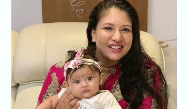 Actress-Sangavi-post-her-child-photo-first-time