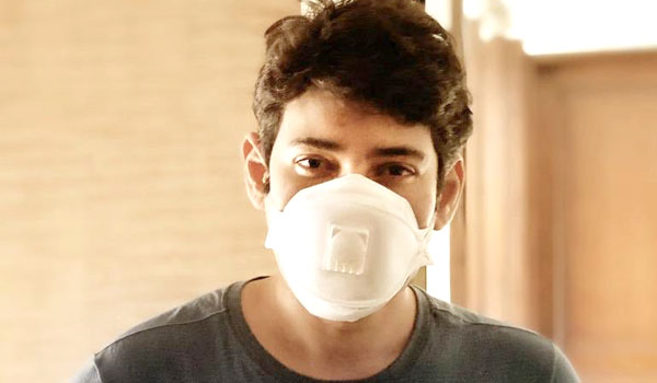 Please-wear-Mask-says-Maheshbabu