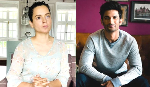 Sushant-dead---Kangana-slams-bollywood-industry