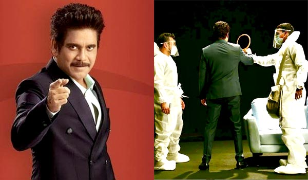 Nagarjuna-in-biggboss-4-shooting