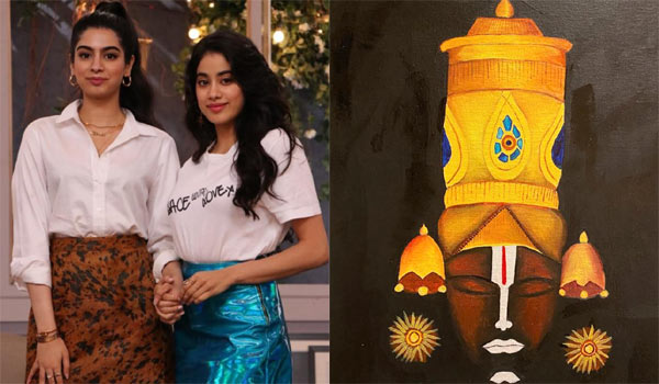 Sridevi-daughters-creativity-during-lockdown