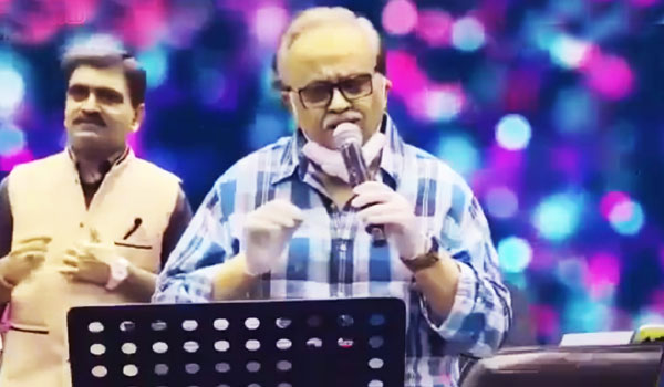 S.P.BALASUBRAMANIYAM-LAST-SPEECH-IN--STAGE