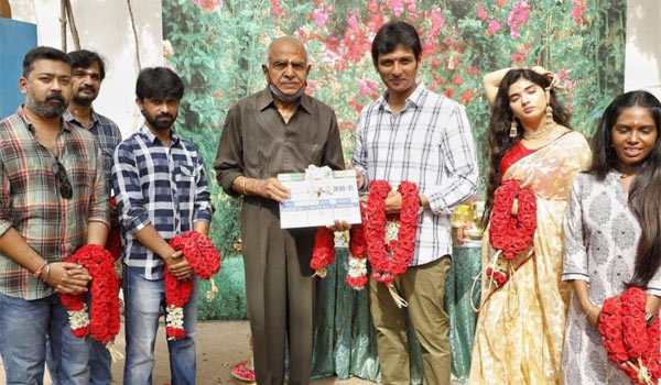 Actor-Jiiva-in-his-father-production