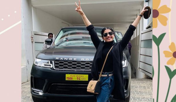 New-Car-:-Rashmika-thanks-to-all