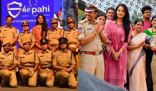 Anushka-honoured-women-police
