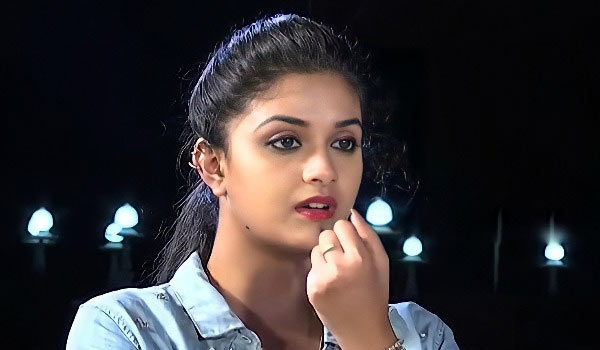Keerthy-suresh-got-punishment-after-losing-in-challenge