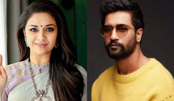 Keerthy-suresh-Birthday-wishes-to-Bollywood-actor-Vicky-kaushal
