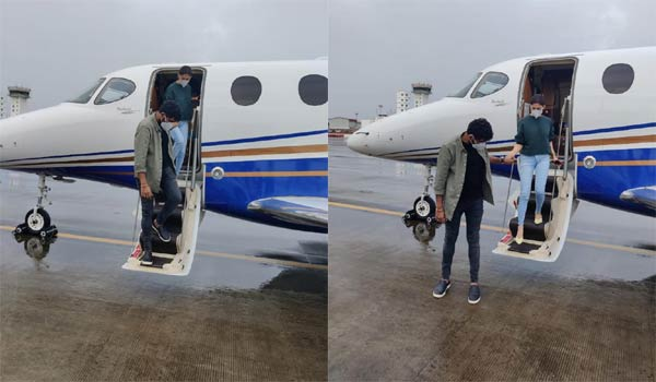 Nayanthara---Vignesh-Sivan-again-fly-in-private-jet-to-Cochin