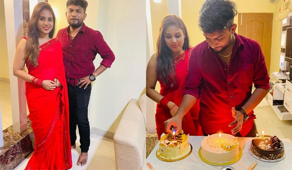 Serial-actress-celebrated-her-First-wedding-anniversary