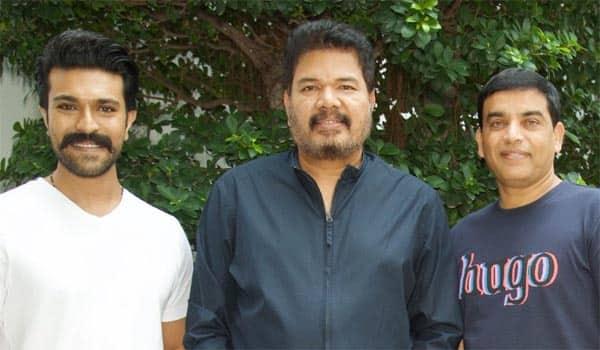 Shankar---Ramcharan-in-talk