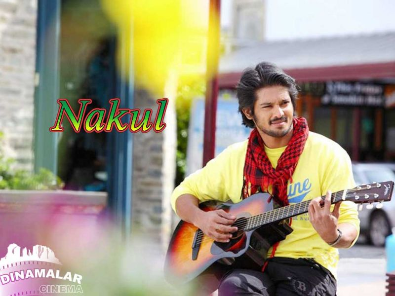 Tamil Cinema Wall paper Nakul