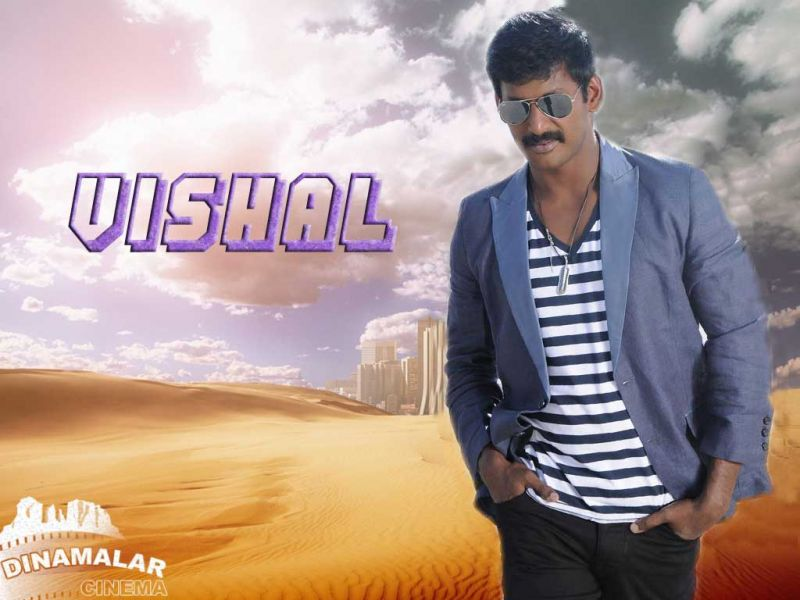 Tamil Cinema Wall paper Vishal