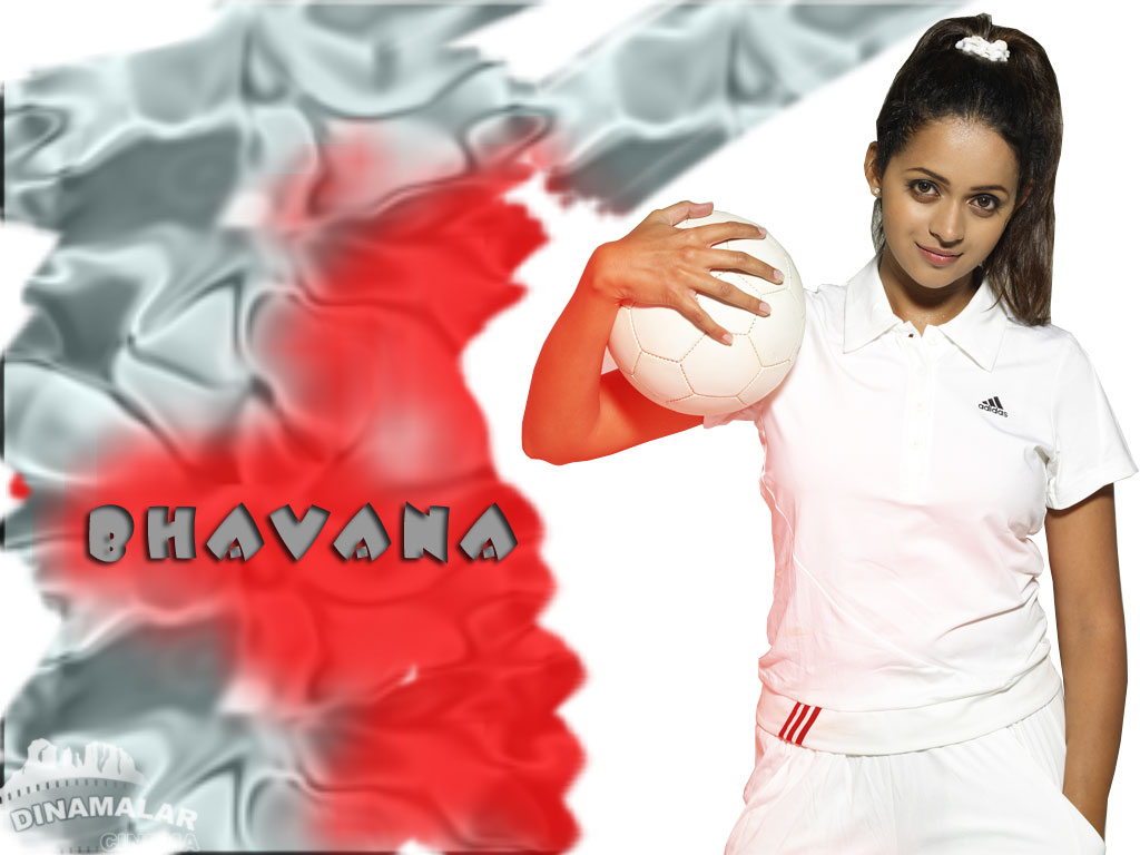 Tamil Actress Wall paper Bhavana