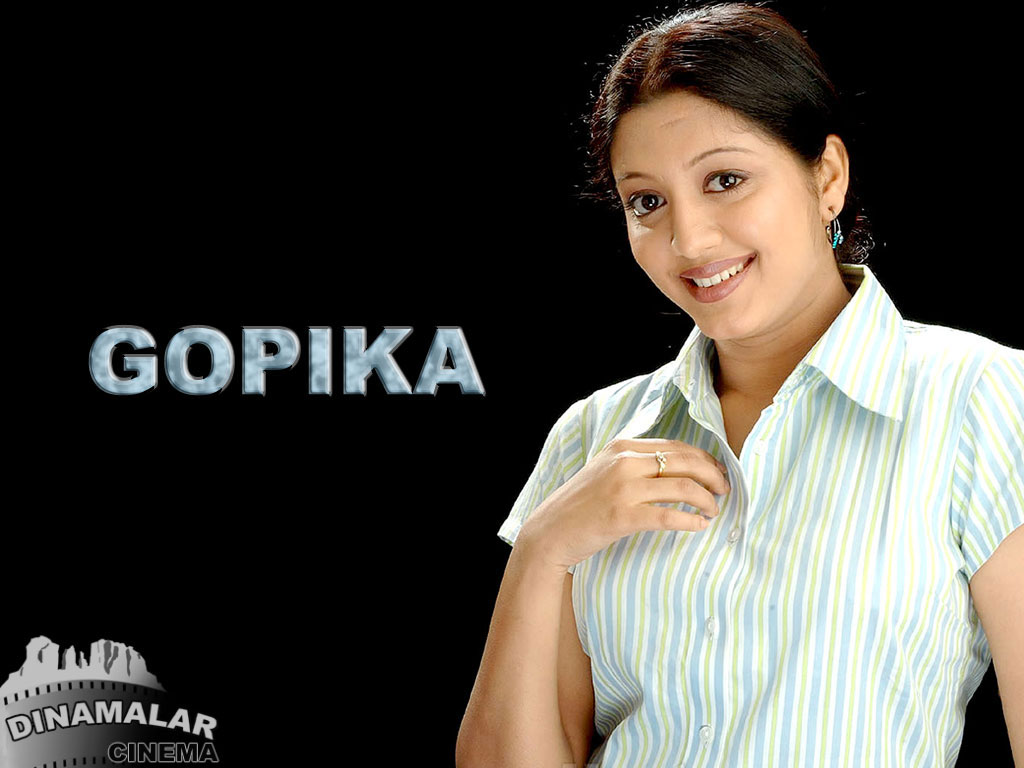 Tamil Actress Wall paper Gopika