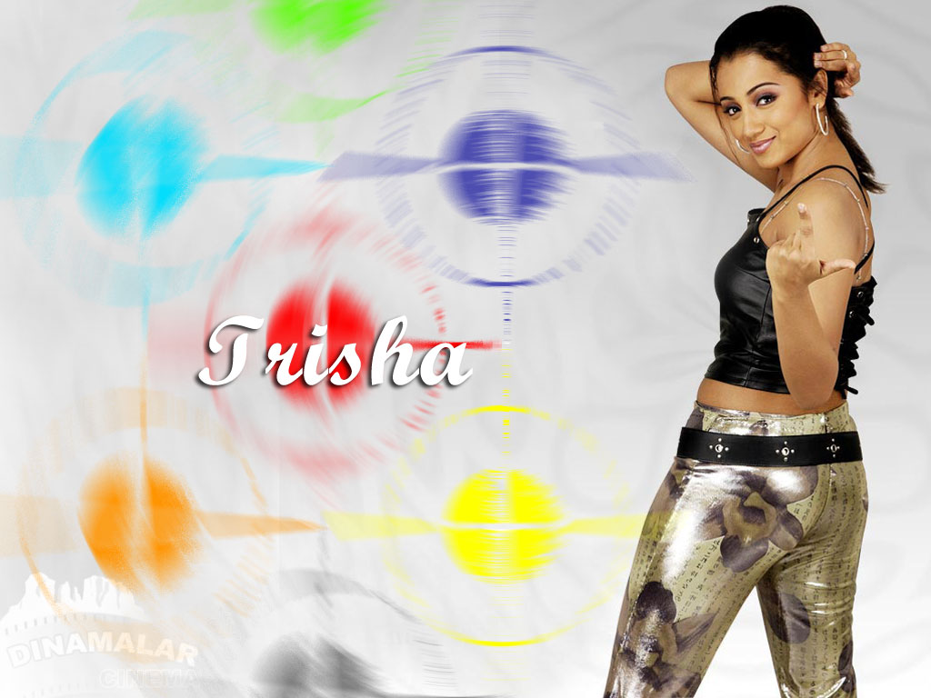 Tamil Actress Wall paper Trisha