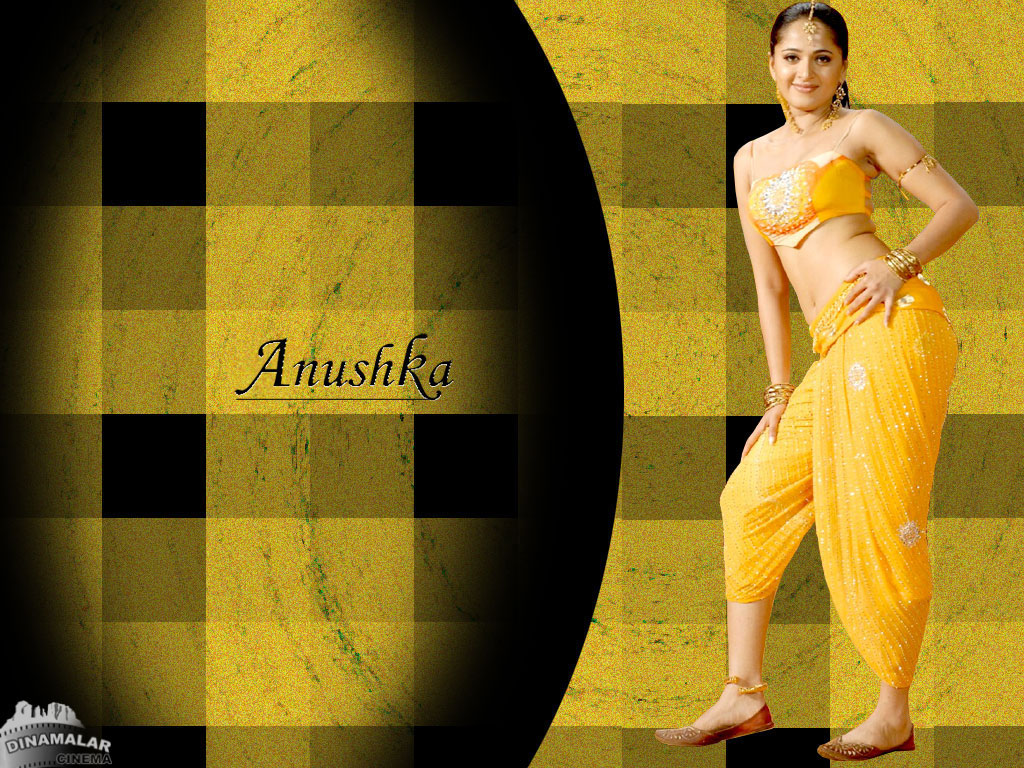 Tamil Actress Wall paper Anushka